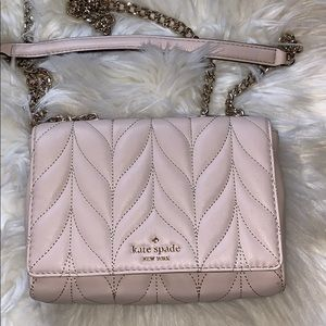 Blush Kate spade emeyln quilted mini